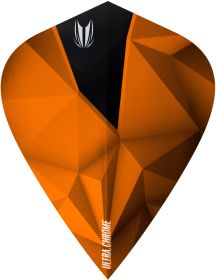 Target Vision Ultra Shard Chrome Copper Kite Flights| Darts Warehouse