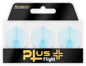 Bull's Robson Plus Flight Std. Black   Darts Warehouse