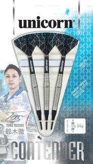 Softtip Contender Toru Suzuki 90% | Unicorn | Darts Warehouse