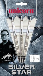 Softtip Silverstar Seigo Asada 80% | Unicorn Darts Warehouse
