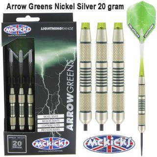 McKicks Arrow Greens 20 gram | Darts Warehouse