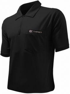 Coolplay 1 Black Target Dartshirt | Darts Warehouse