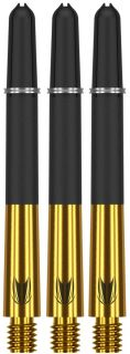 Target Carbon Titanium Pro Gold Medium | Darts Warehouse