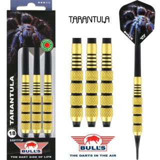 Softtip Bull's Tarantula Brass | Kinderpijlen | Darts Warehouse