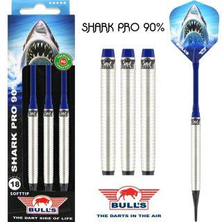 Bull's Softtip Shark Pro 90% E-Dartpijlen | Darts Warehouse