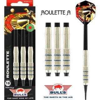 Softtip Bull's Roulette | Nickel Silver Darts | DartsWarehouse