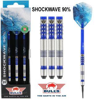 Softtip Bull's Shockwave 90% 20 gram Dartpijlen   Darts Warehouse