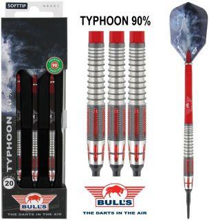 Typhoon 90% Bull's Softtip 20 gram Dartpijlen | Darts Warehouse