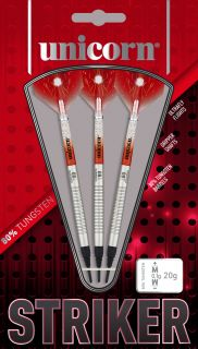 Unicorn Softtip Core Striker 2 80% | Darts Warehouse