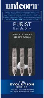 Evolution Purist Phase 5 LP 95% | Darts Warehouse