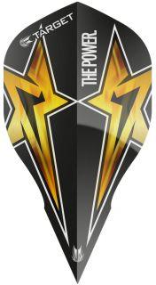 Target Phil Taylor Vision G3 Edge Black Star | Darts Warehouse
