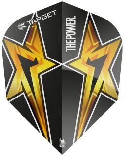 Target Phil Taylor Vision G3 Std.6 Black Star | Darts Warehouse