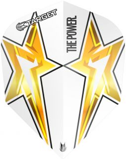 Target Phil Taylor Vision G3 Std.6 White Star | Darts Warehouse