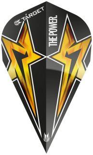 Target Phil Taylor Vision G3 Vapor Black Star | Darts Warehouse