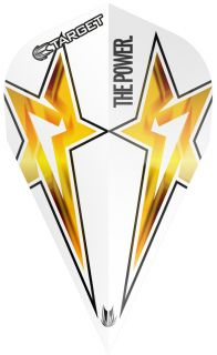 Target Phil Taylor Vision G3 Vapor White Star | Darts Warehouse