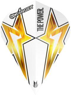 Target Phil Taylor Vision G3 Vapor S White Star | Darts Warehouse