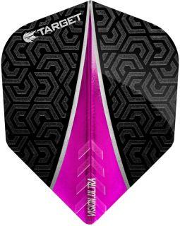 Vision Ultra Pink Std.6   Target Dartflights   Darts Warehouse