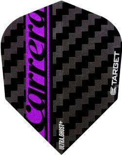 Vision Ultra Ghost Carrera Purple Target Dartflights   Darts Warehouse
