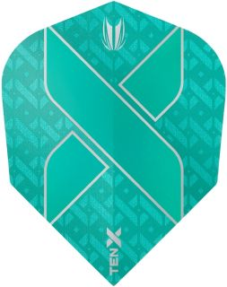 Vision Ultra Ten-X. Aqua Target Dartflights | Darts Warehouse