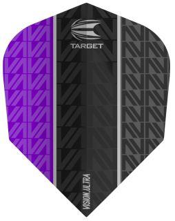 Target Vision Ultra Vapor8 Black Purple Std.6   Darts Warehouse