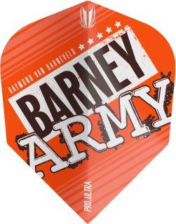 Vision Ultra Player Barney Army Orange Ten-X Target Flight | Darts Warehouse