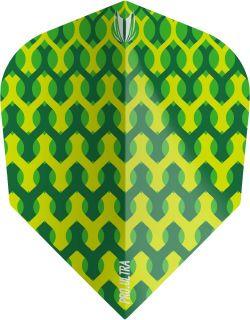 Vision Fabric Green Target Dartflights | Darts Warehouse