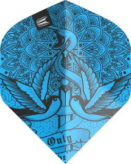 Vision Ultra Ink Blue Std. Target Dartflights | Darts Warehouse