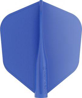 8 Flight Std.6 Blue Target Dartflights   Darts Warehouse