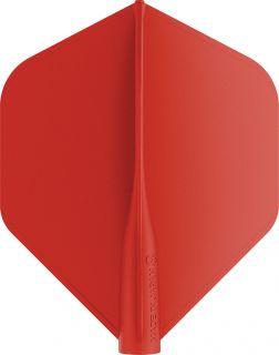 8 Flight Std. Red Target Dartflights   Darts Warehouse