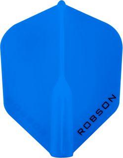 Robson Plus Flight Std.6 Blue | Darts Warehouse