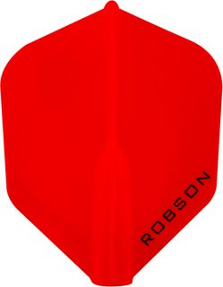 Robson Plus Flight Std.6 Red | Darts Warehouse