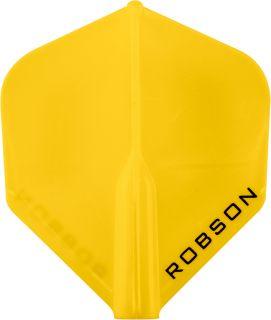 Robson Plus Flight Std. Yellow | Darts Warehouse