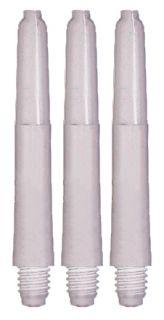 Nylon 'The Original' Shaft White Short 100 sets | Darts Warehouse