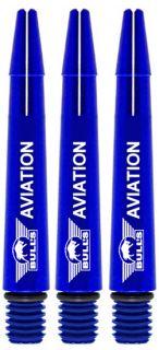 Bull's Aviation Short Blue | Strong Aluminium | Darts Warehouse