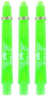 Glowlite Color Short Green | Nylon Shafts | Dartswarehouse