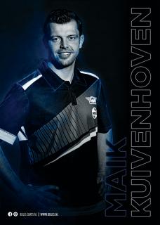 Maik Kuivenhoven Player Poster A3 Bull's NL Darts | Darts Warehouse