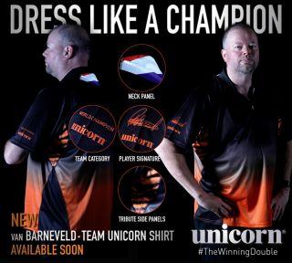 Raymond van Barneveld Dartshirt Unicorn | Darts Warehouse