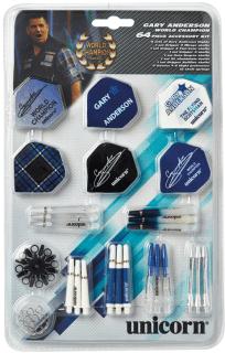 Gary Anderson Accessoire Kit | Darts Warehouse Online Dartshop