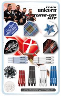 Team Unicorn Accessoire Kit | Darts Warehouse Online Dartshop