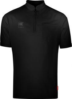 Coolplay Collarless Shirt Black Target Dartshirt | Darts Warehouse