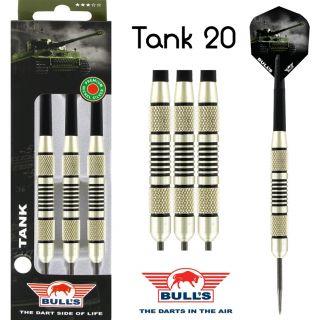 Tank Nickel Silver Darts | Bulls Darts Kopen | Darts Warehouse