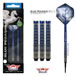 Softtip Blue Pegasus 95% C Bull's NL Darts | Darts Warehouse