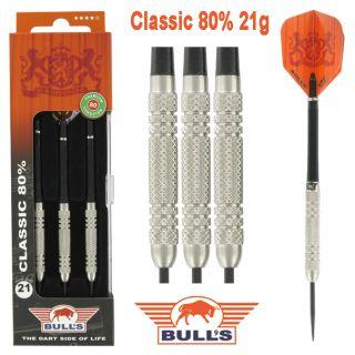 Bulls Classic 80% 21 gram Darts Kopen   Darts Warehouse de online dartwinkel
