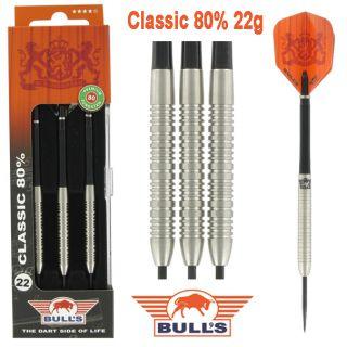 Bulls Classic 80% 22 gram Darts Kopen   Darts Warehouse de online dartshop