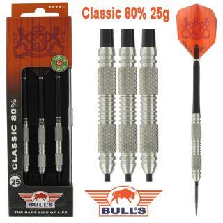 Classic 80% 25 gram   Bulls Dartpijlen Kopen