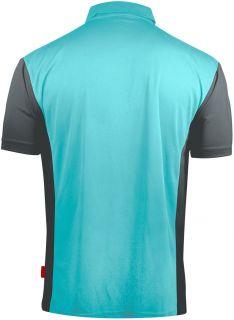 Coolplay 3 Hybrid Sky Blue Grey Target Dartshirt | Darts Warehouse