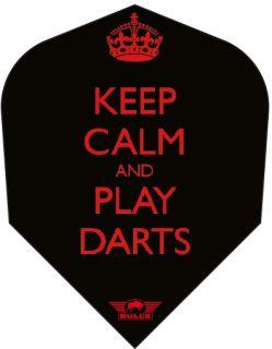 Keep Calm and Play Darts | Dartflights | Dartswarehouse