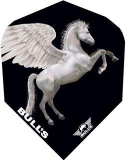 Bull's Powerflight Std.6 White Pegasus   Darts Warehouse