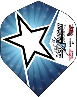 Max Hopp Blue Star Std. Powerflite Bull's | Darts Warehouse