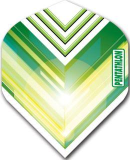 Pentathlon Std. V Green | Darts Warehouse Dart Flights